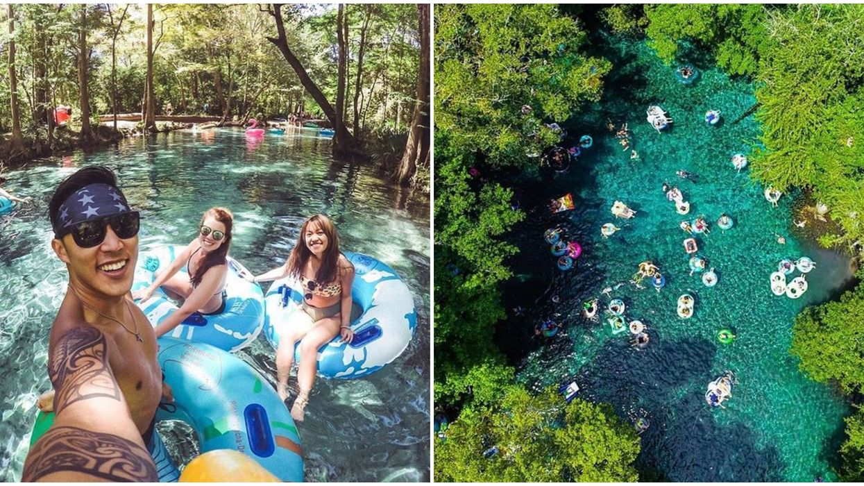 6 Natural Lazy Rivers In Florida That Are The Perfect Day Trip
