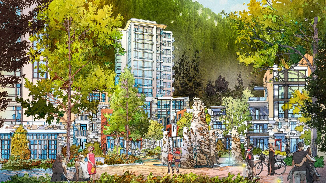 New Cypress Mountain Village Near Vancouver Will Have Affordable Homes (RENDERING)