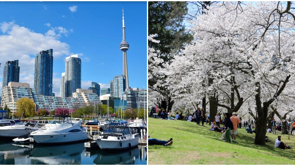 Toronto Weather Will Feel As Warm & Sunny As Vancouver This Weekend