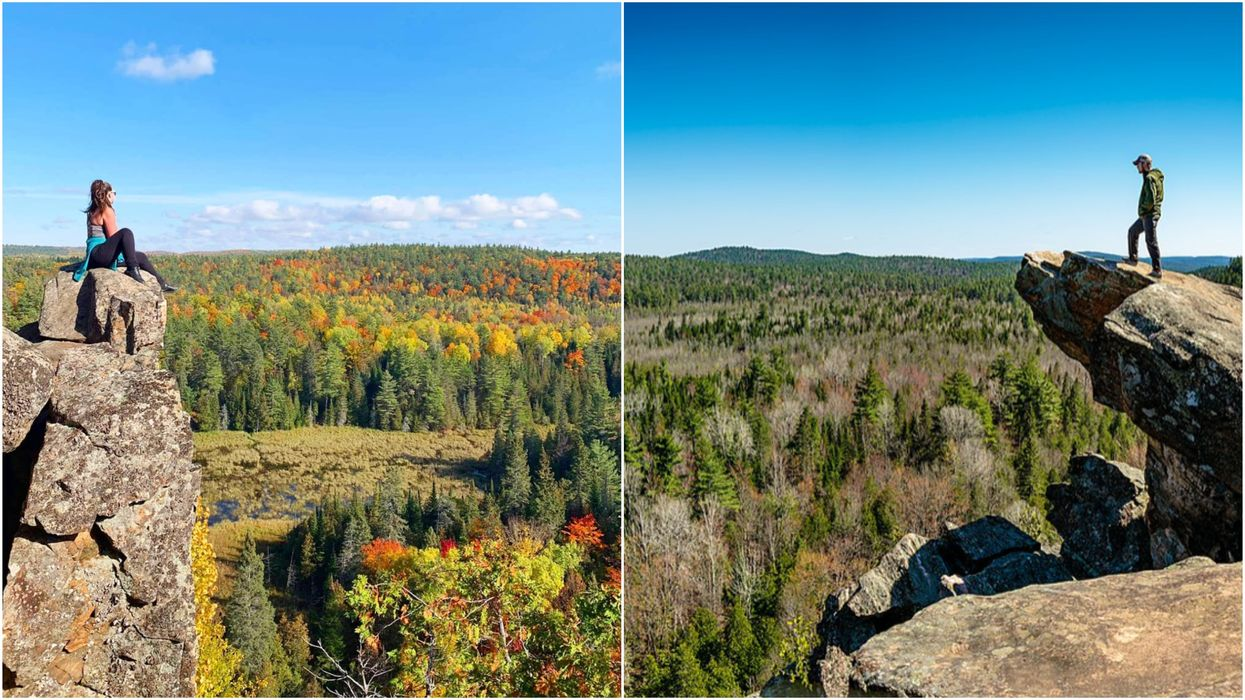 Incredible Hike Near Ottawa Has A Daredevil Cliff Edge & Breathtaking Scenic Views