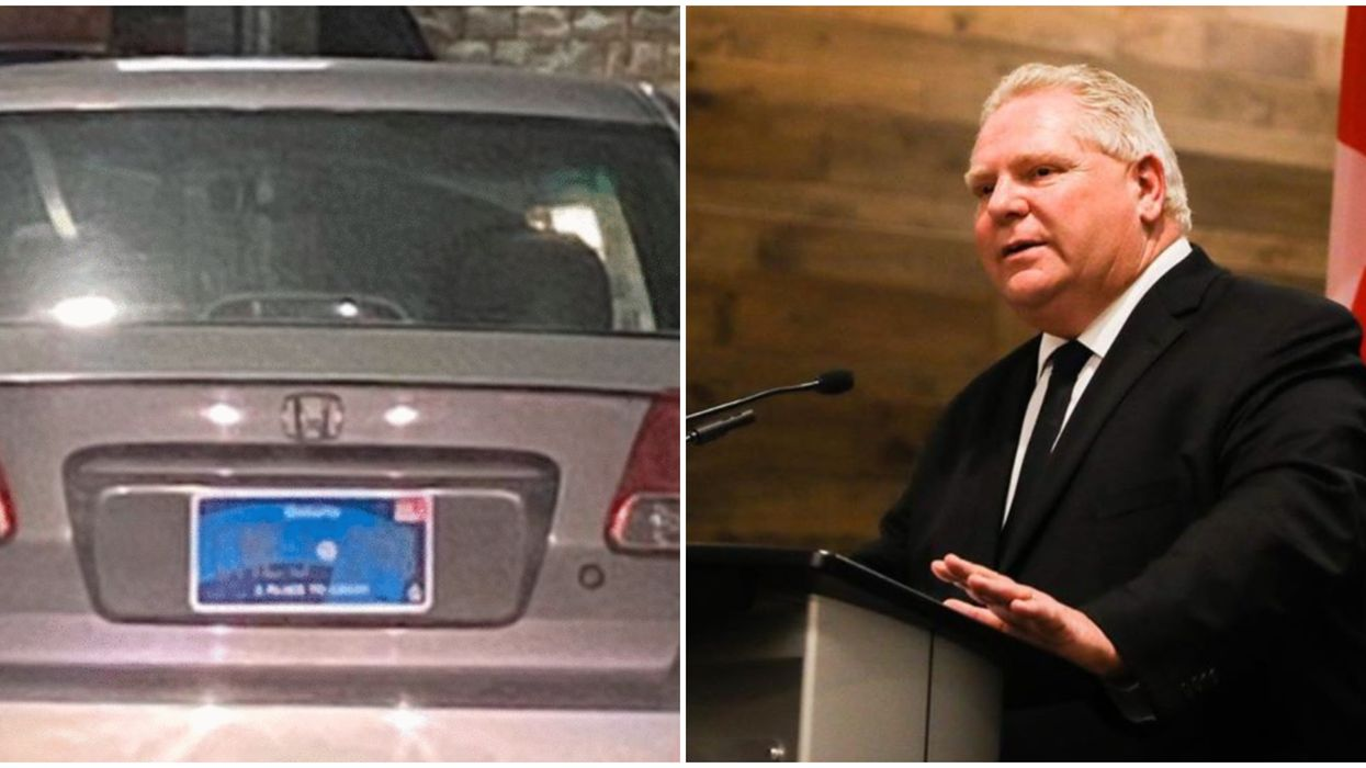 Ford's Government Finally Admits That Their License Plate Fail Is A Problem