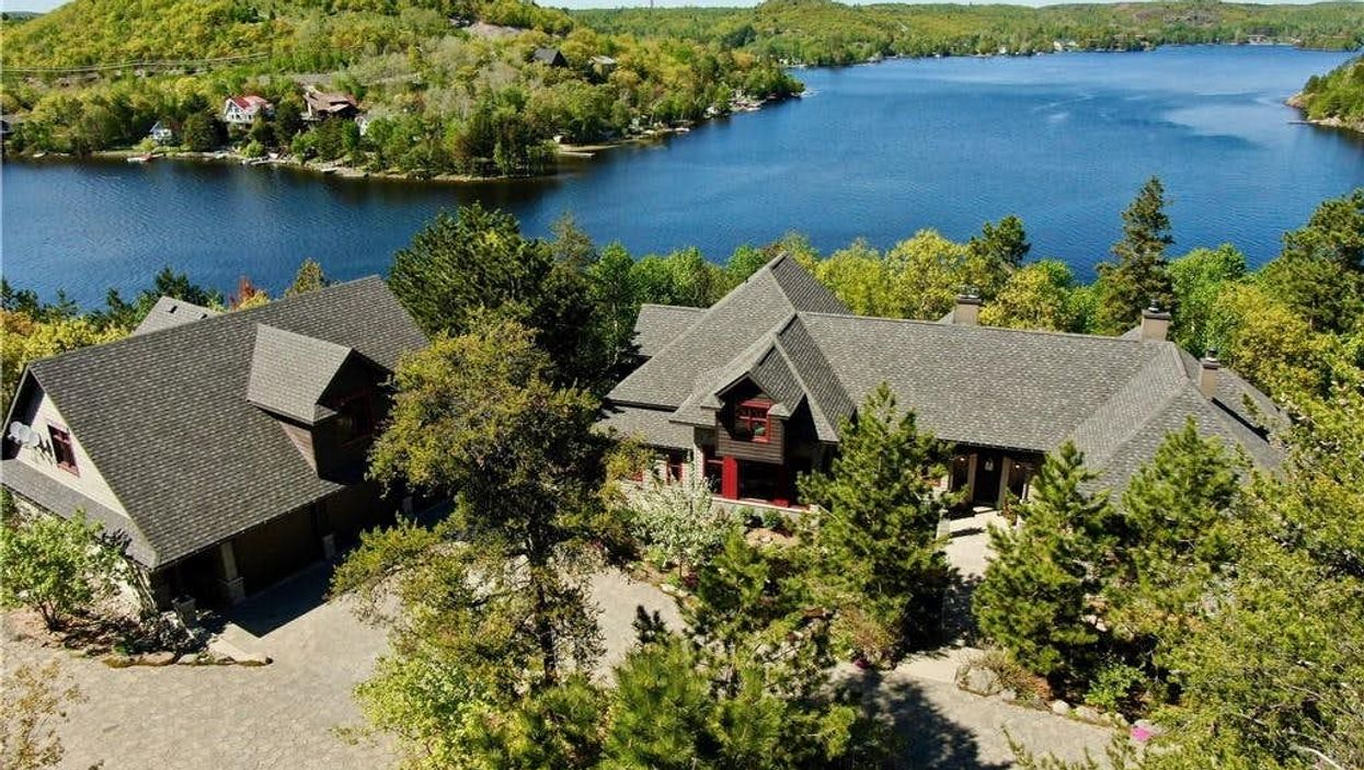 Ontario Cottage For Sale Is Like An Indoor Playground For Adults