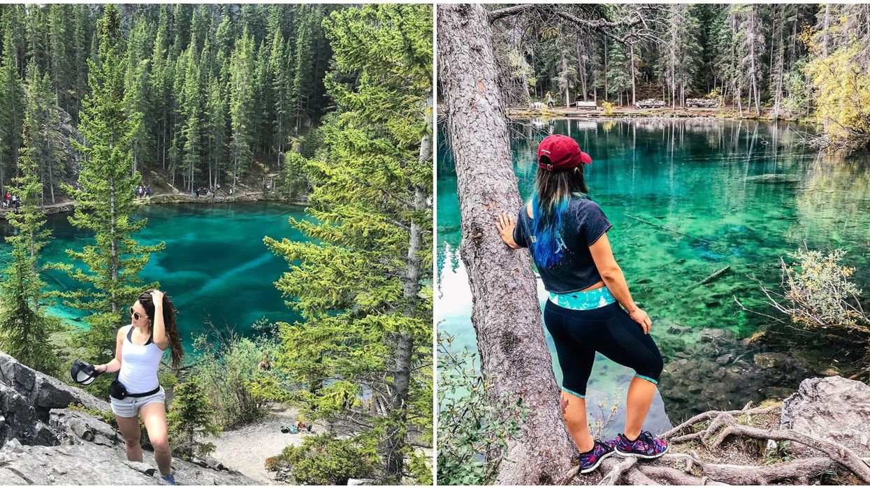 Grassi Lakes Canmore Hike Leads You To A Surreal Emerald Lake You Won't Believe Is Natural
