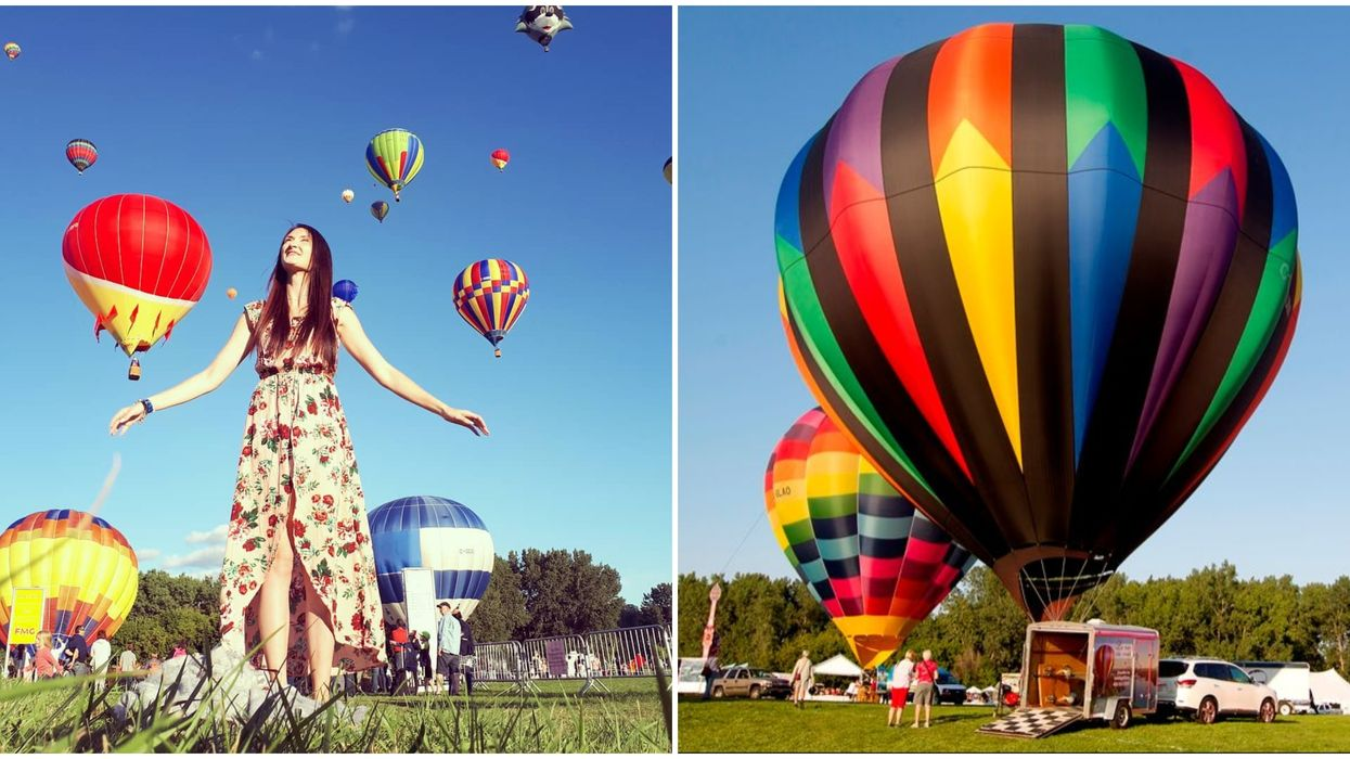 One Of Canada's Largest Hot Air Balloon Festivals Is Near Ottawa This Summer