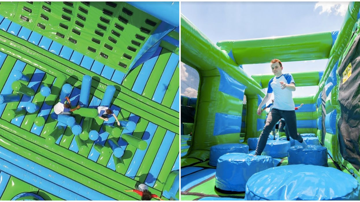Toronto's Bubble Inflatable Park Is Opening Next Month & It's The First In Canada