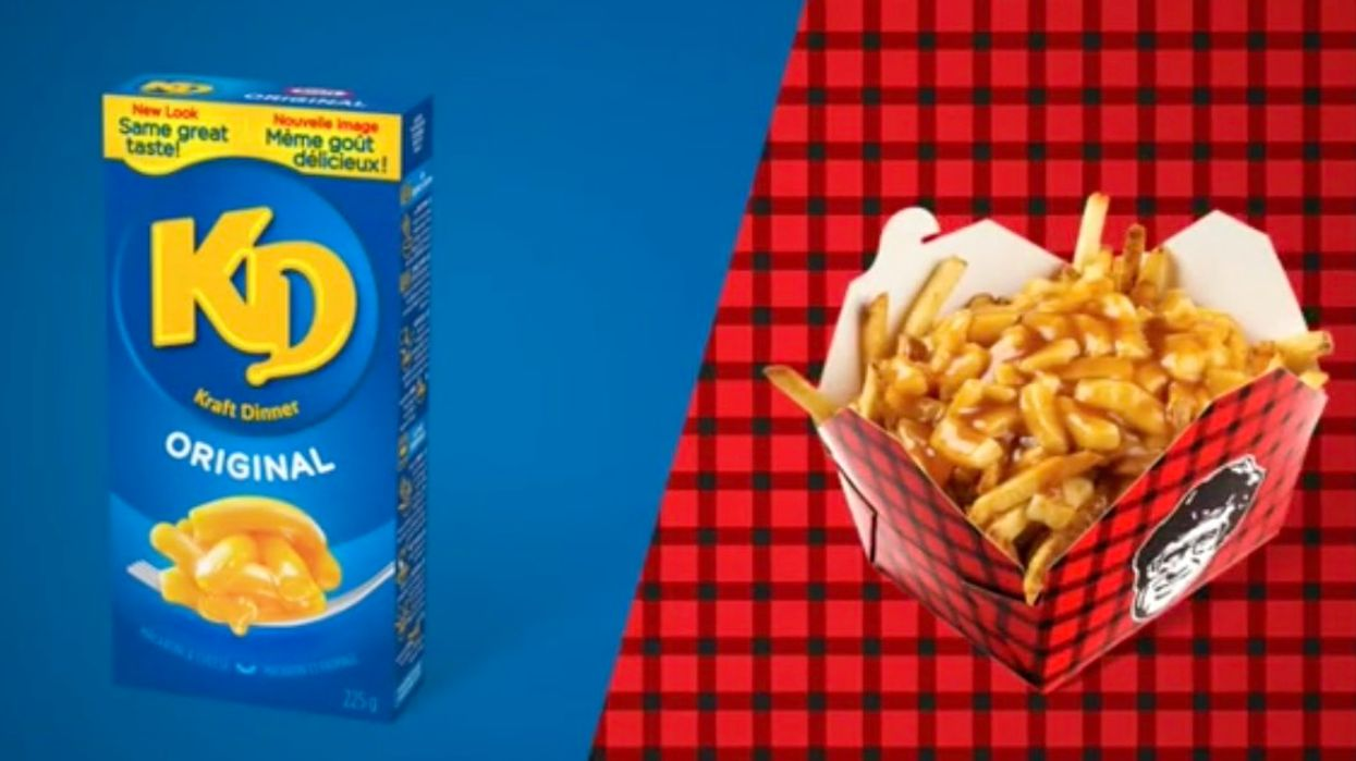 Poutine Topped With KD Exists & It Might Be The Most Canadian Dish Ever