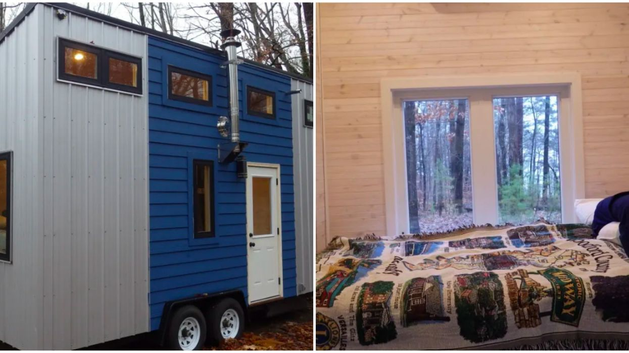 Tiny Home Listings In Georgia Include This House With An Elevator Bed
