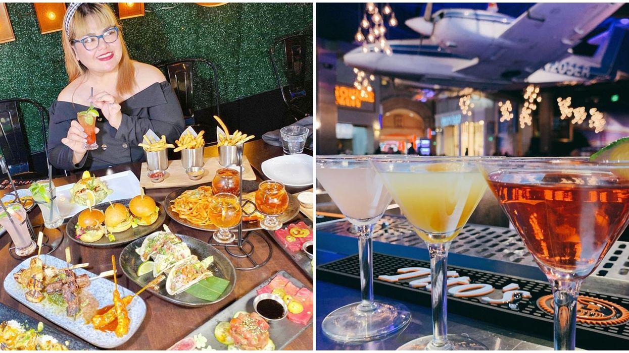 The Best Food In Las Vegas Is Served In Flights Of Three