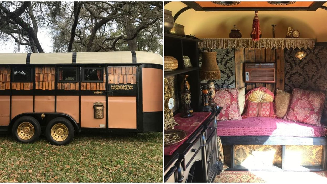 A Tiny House For Sale In Florida Is This Adorable Bohemian Gypsy Wagon