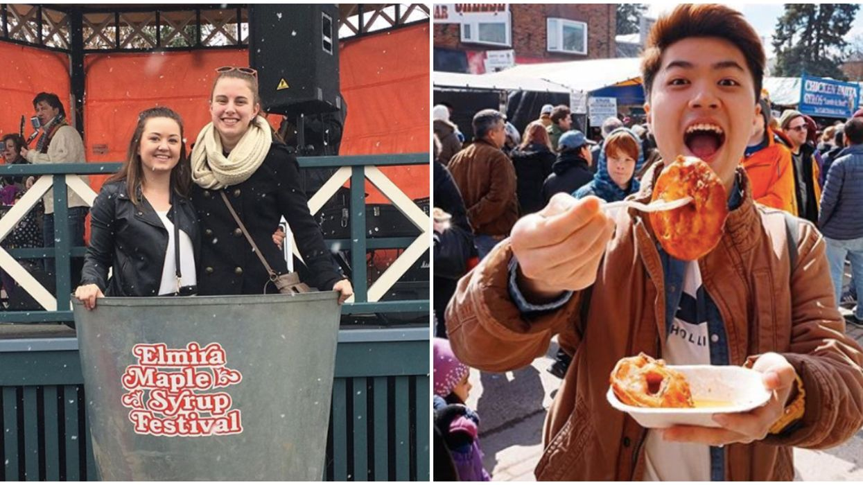 Elmira Maple Syrup Festival Is The Largest In The World & It's Back This Spring