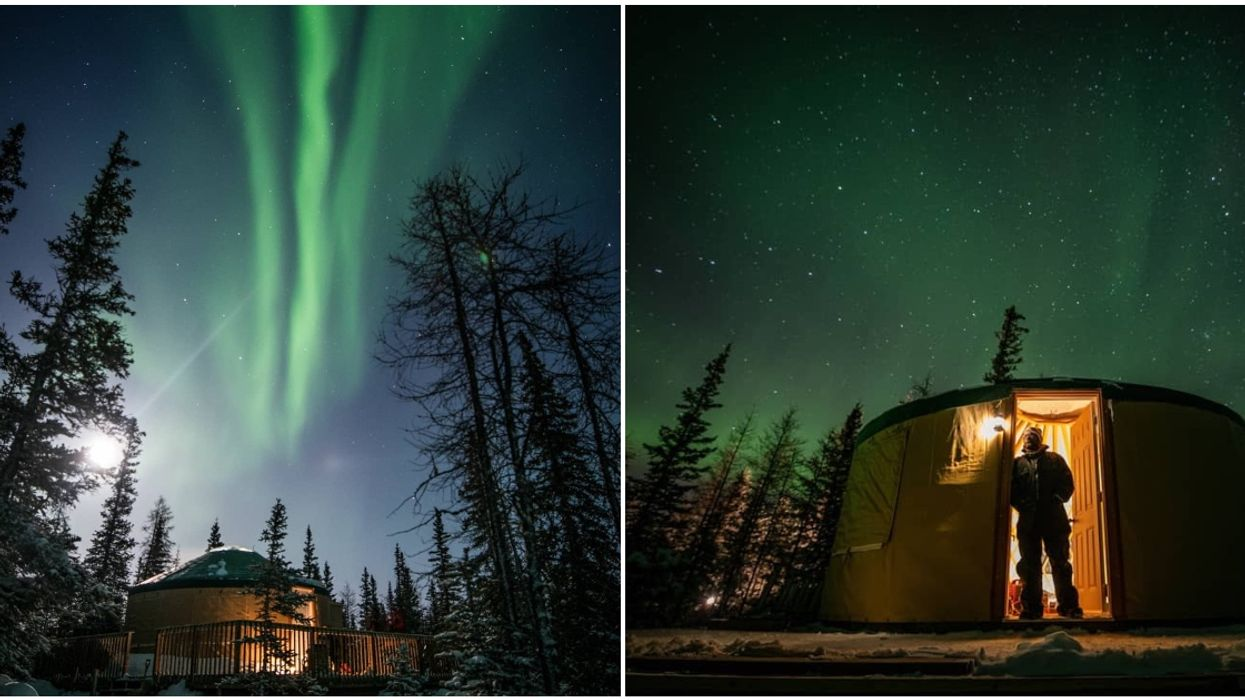 This Unique Place In Manitoba Is A Hot-Spot For Viewing The Northern Lights