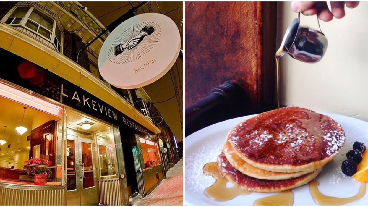 Toronto Is Getting A 24-Hour All-You-Can-Eat Pancake Marathon Next Week