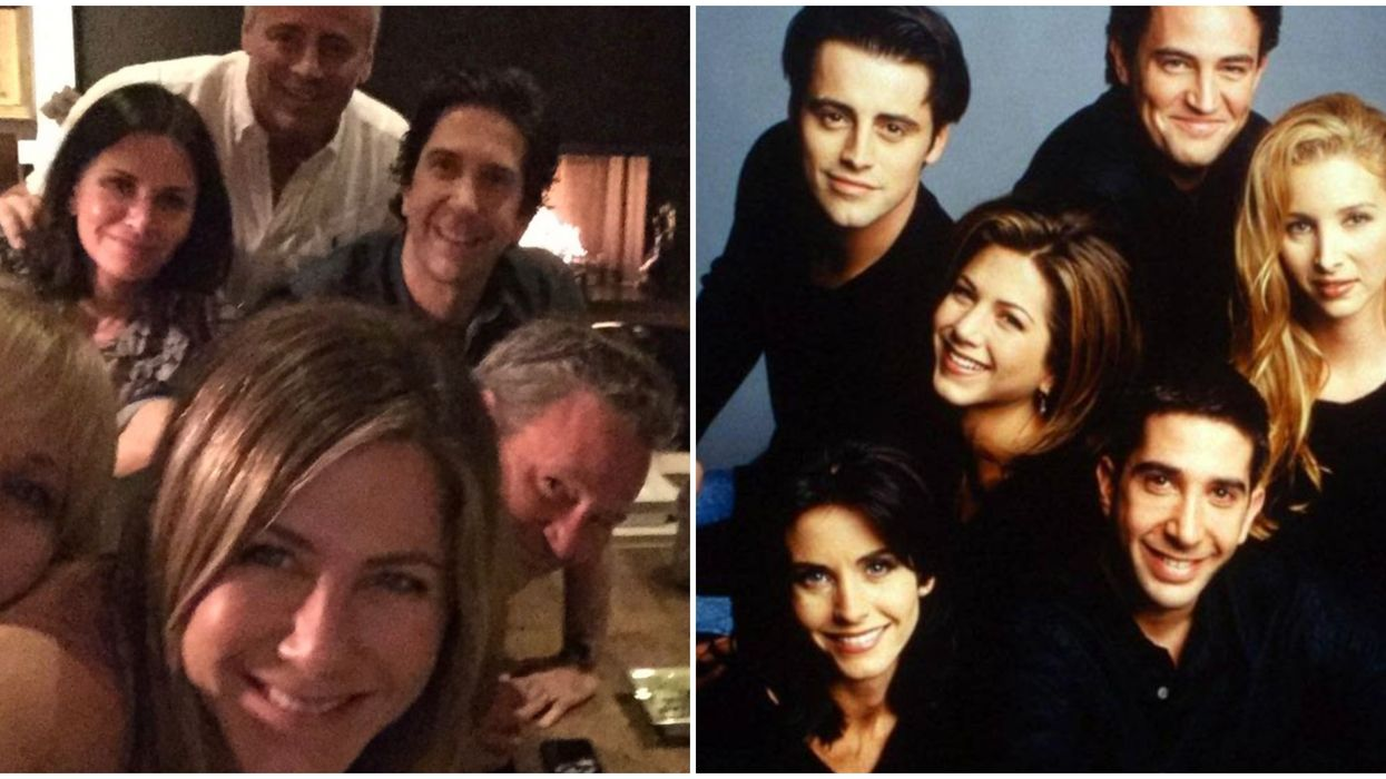 """""""Friends"""" Reunion Is Actually Happening According To Matthew Perry"""