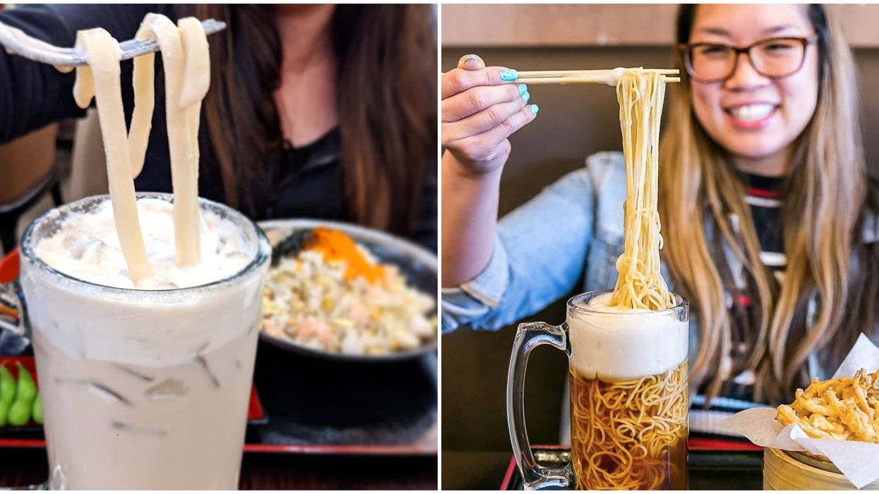 Beer Ramen In Vancouver: Get Wild Noodle Dishes Including Milk Tea Udon At Yuu