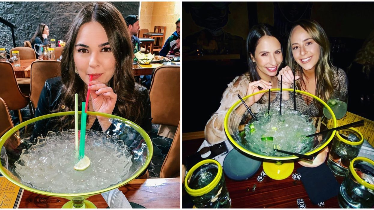 This Bar In Dallas Serves The Most Massive Shareable Margaritas