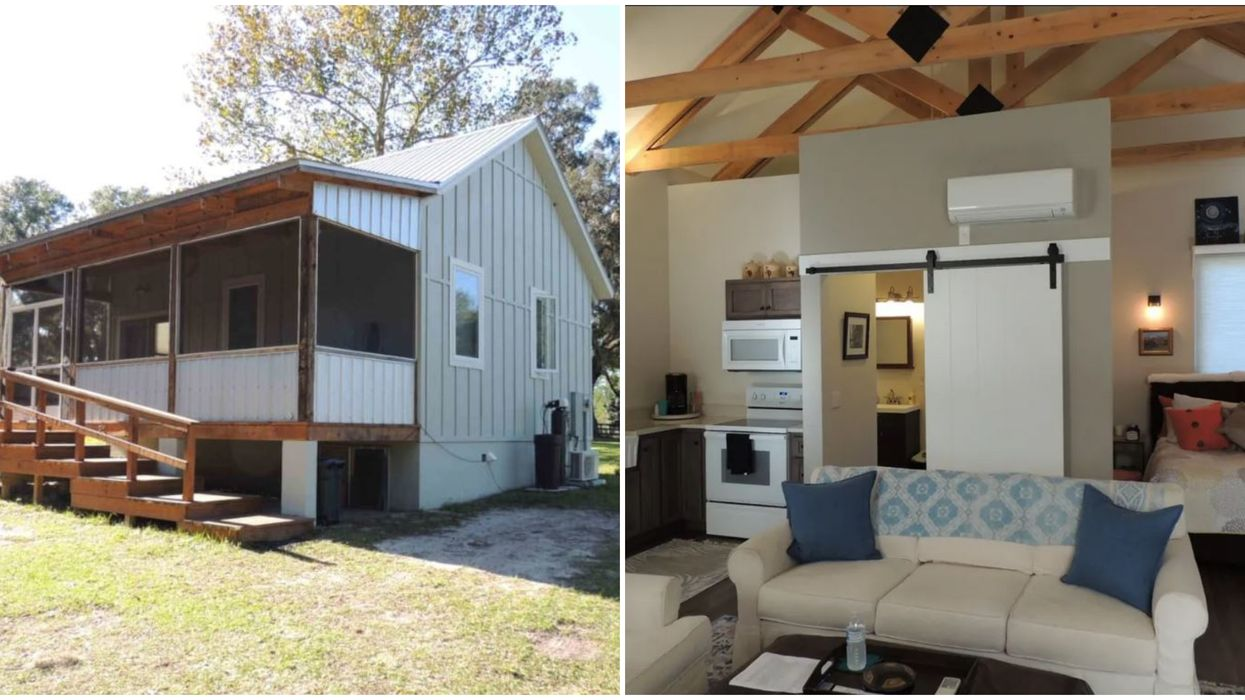 This Florida Tiny Home Cottage With 10 Acres Is The Perfect Escape To Nature