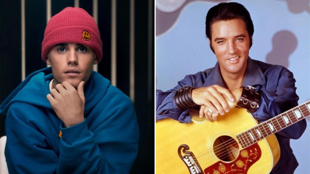 Justin Bieber Just Broke Elvis Presley's Music Record