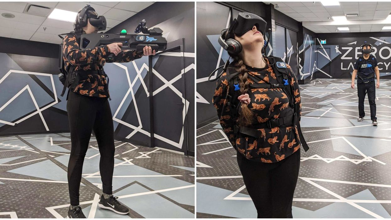 Zero Latency In Vancouver Opens This Week & You Can Load Right Into The Matrix (PHOTOS)