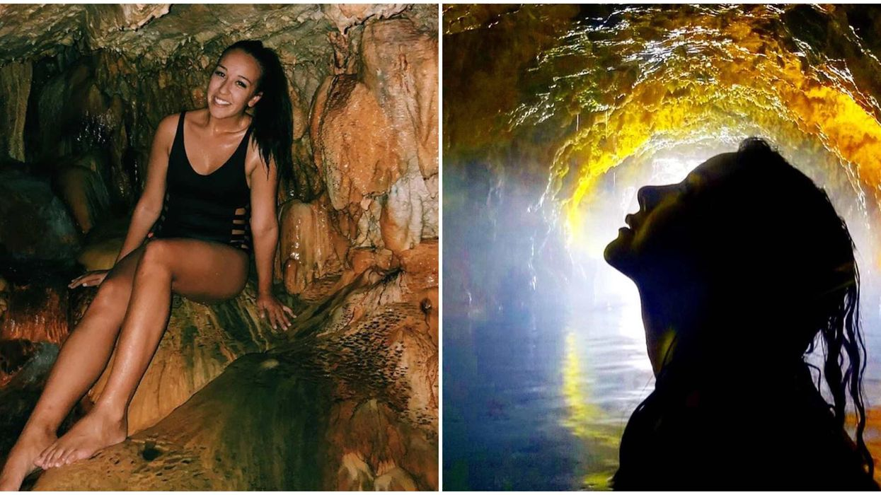 Hot Spring Cave In B.C Will Make You Feel Like You're On Another Planet