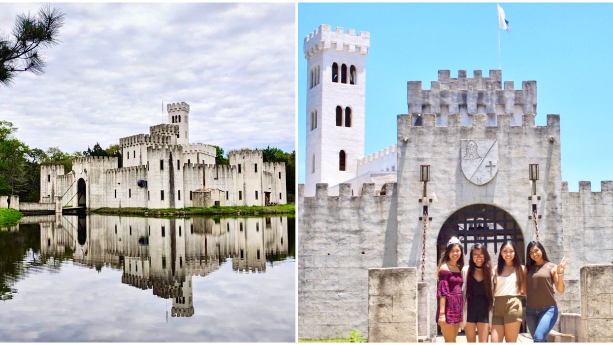 You & Your BFFs Can Road Trip To An Actual Enchanting Fairytale Castle Near Houston