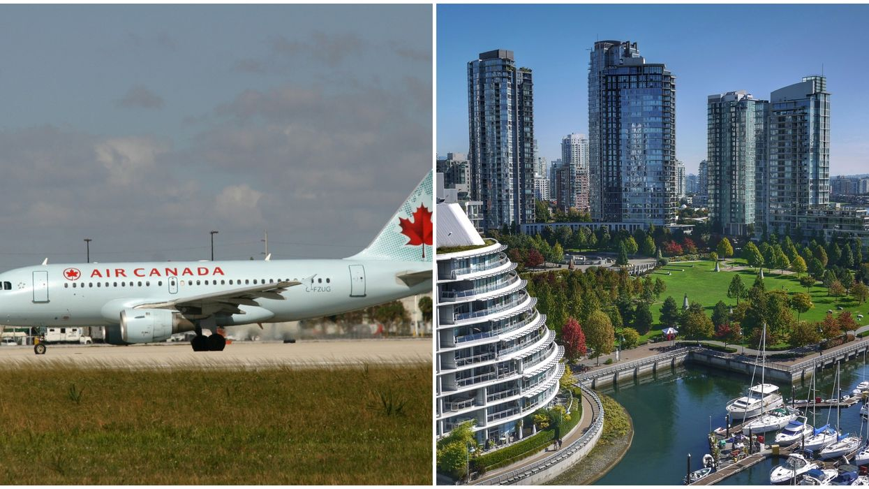 BC Coronavirus Case Tests Positive On Air Canada Flight From Montreal To Vancouver