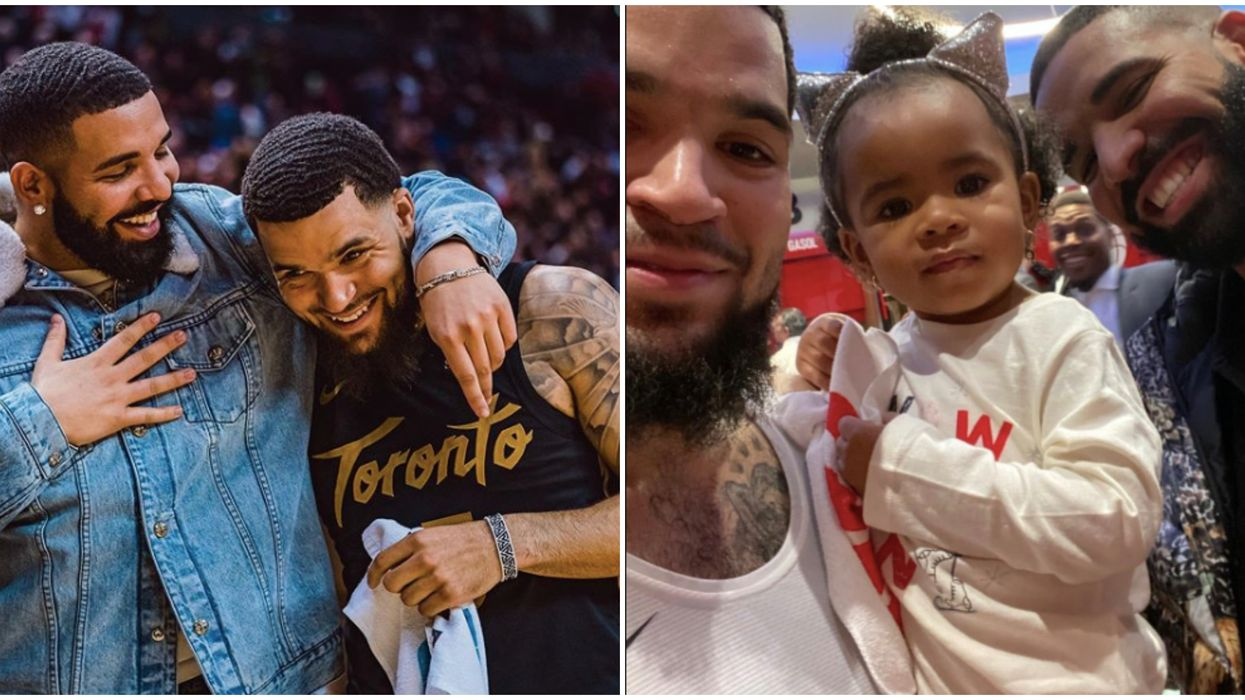 Drake And Fred VanVleet's Bromance Reached Another Level This Weekend