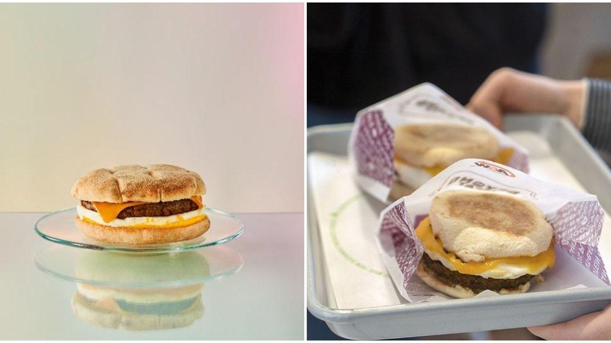 Starbucks Beyond Meat Breakfast Sandwich Is The Latest In The Canadian Market