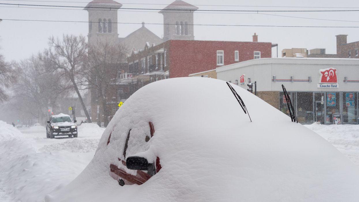 Une alerte de tempête hivernale émise par Environnement Canada pour ces secteurs du Québec