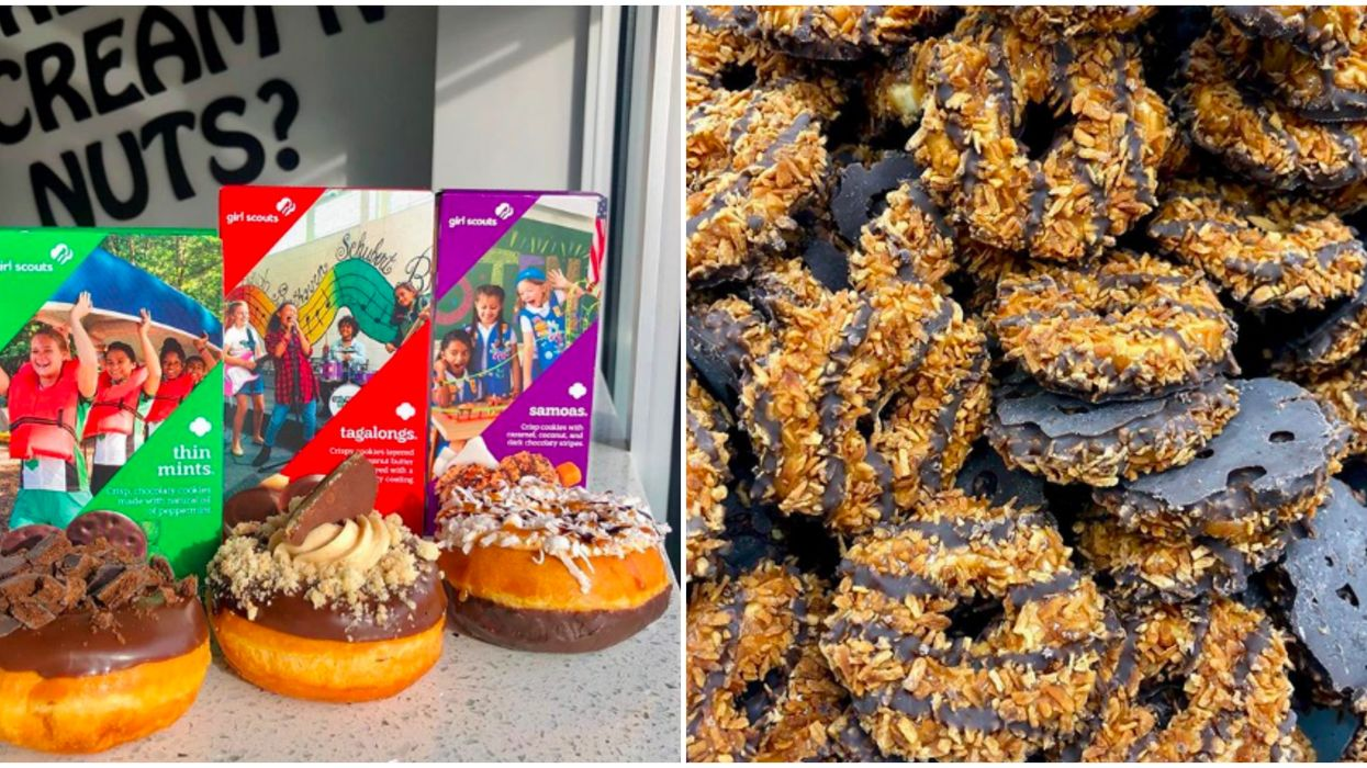 Donuts In Atlanta Include These Limited Edition Girl Scout Cookie Flavors