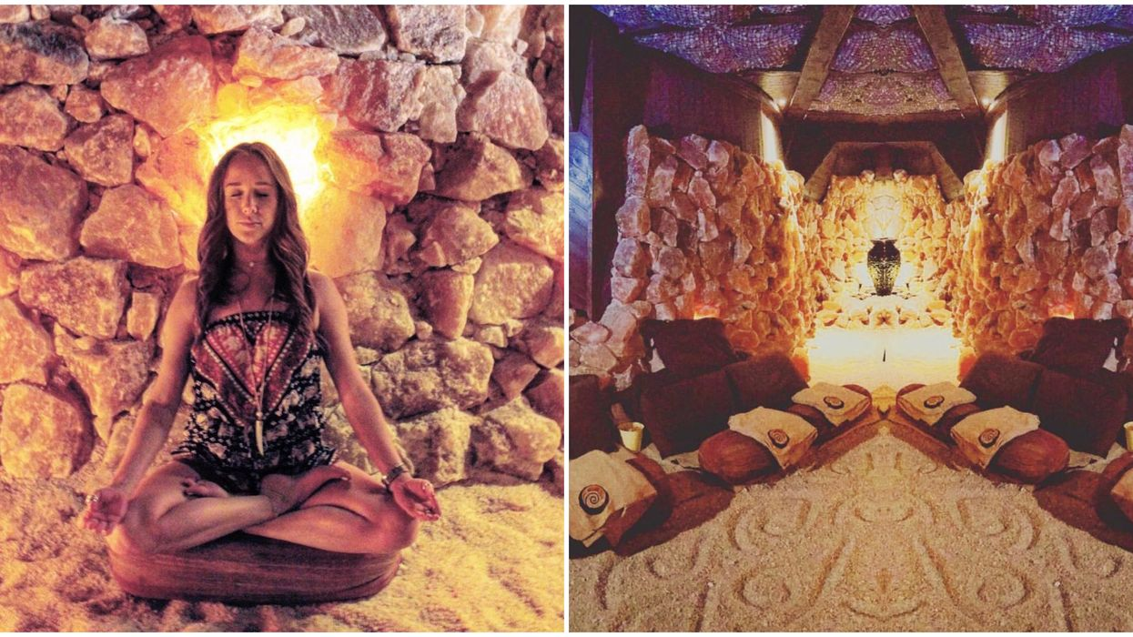 This Salt Cave In North Carolina Is Having A Sound Healing Concert In March