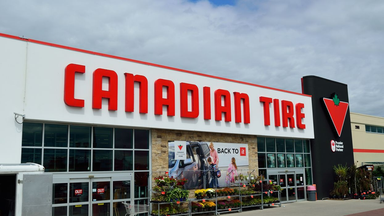 Calgary Police Arrest A Man As He's Shopping For Crime Supplies At Canadian Tire