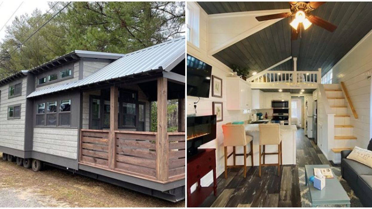 Tiny Home In Georgia Lets You Try Before You Buy