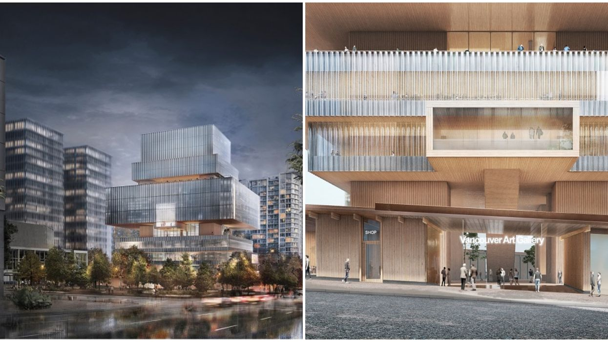 The Upcoming New Vancouver Art Gallery Looks Like It's From A Sci-Fi Movie (PHOTOS)