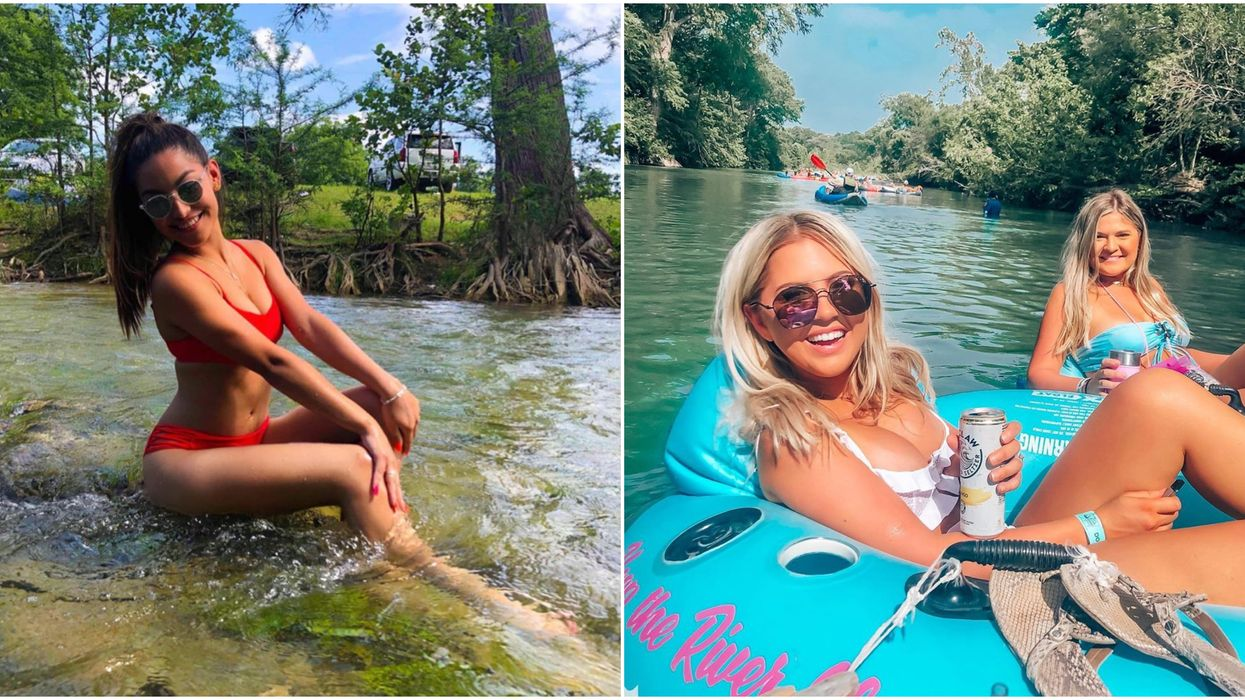 6 Natural Lazy Rivers In Texas That Are Perfect For Spring Break