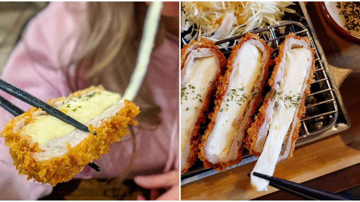 """Katsu In Calgary: You Can Get Your """"Cheese Pull"""" Fix At This New Restaurant"""