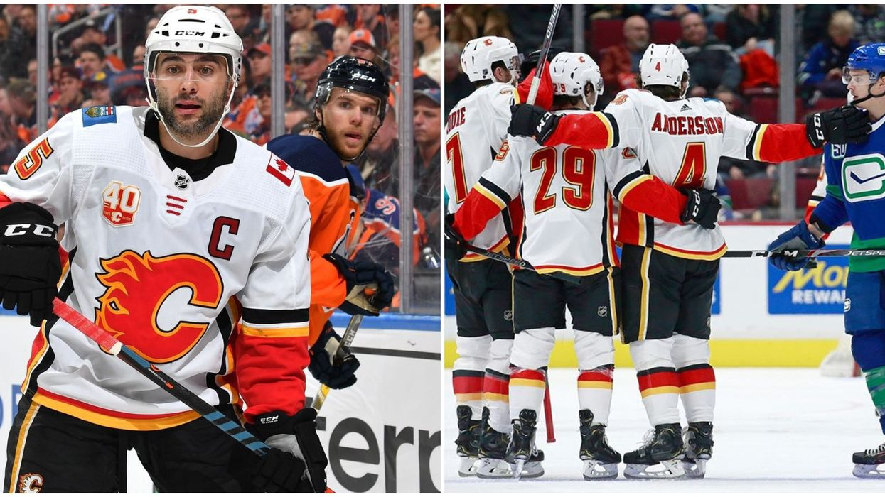 Calgary Flames' Captain Might Play Tonight After 9 Games Out & Fans Are Over The Moon