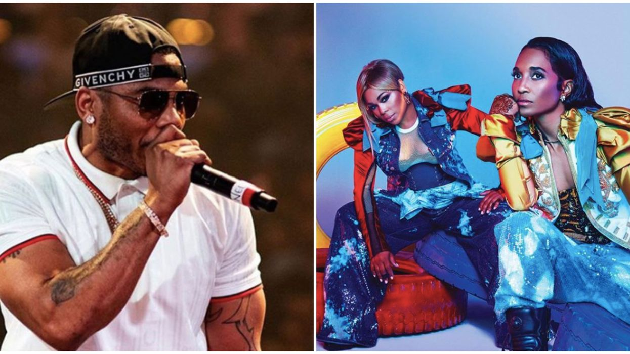 TLC And Nelly In Ontario This Summer Promises To Be One Hell Of A Throwback Party
