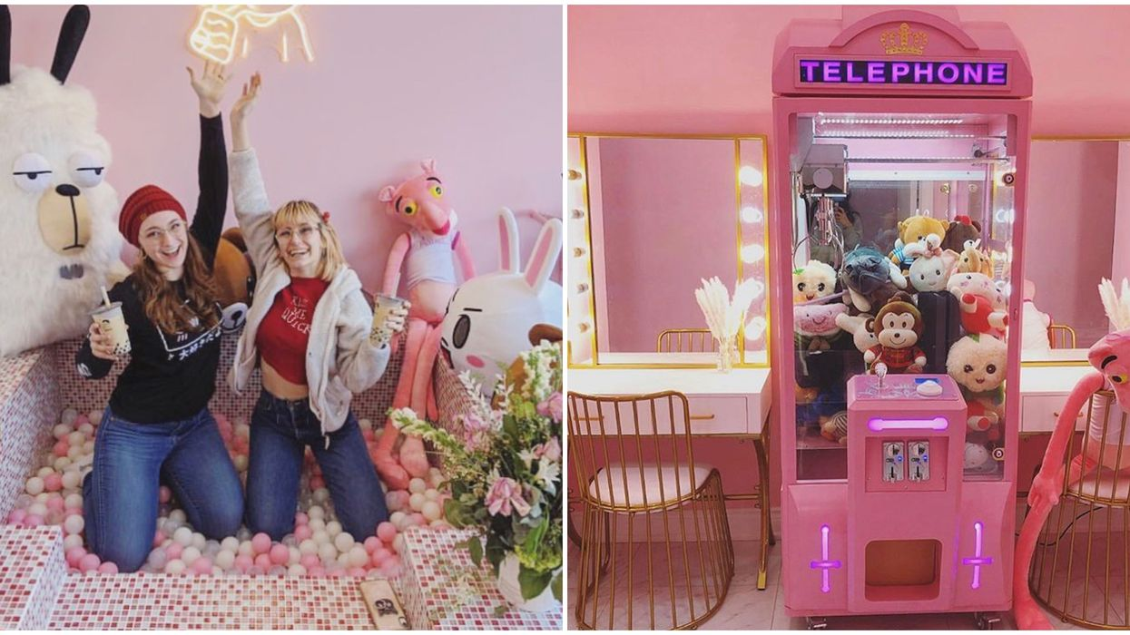 Toronto's Song Tea Store Is A Pink Paradise With A Ball Pit
