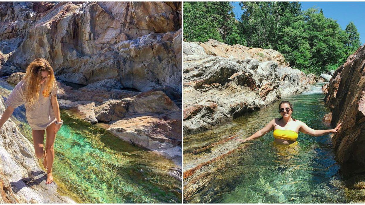 Travel In California Includes Secret Emerald Swimming Pools & Waterfalls