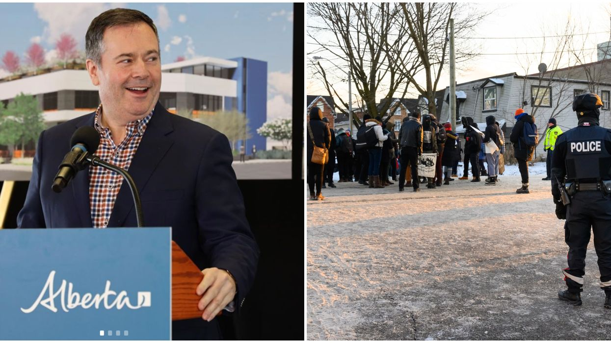 Penalties For Alberta Protestors & Rail Blockaders Are Being Threatened By Jason Kenney