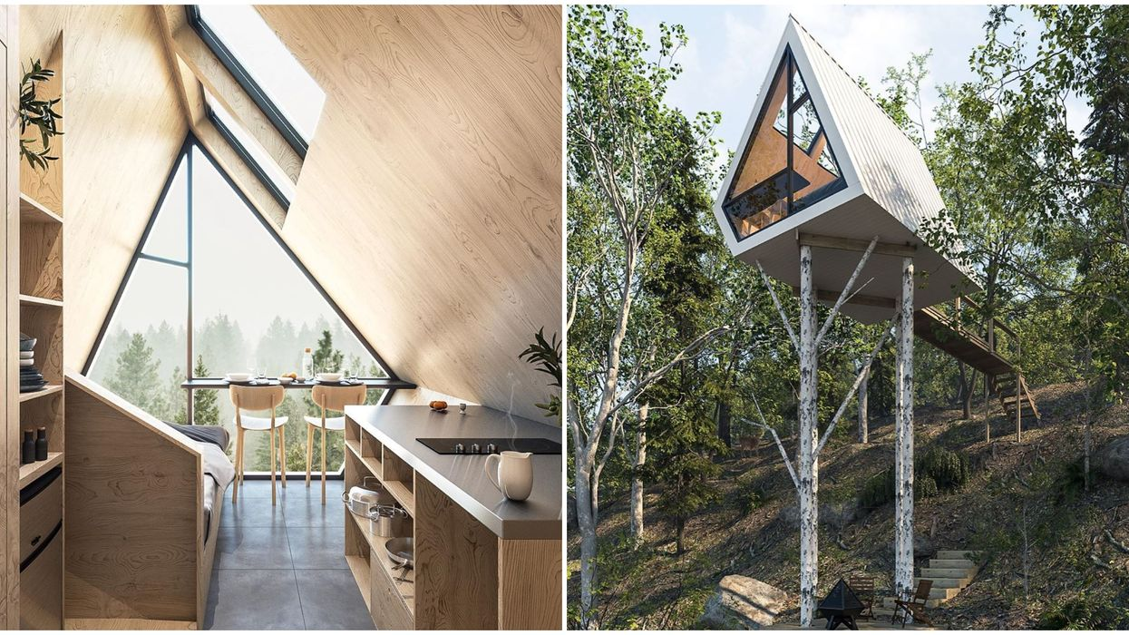 Tiny Homes In Quebec Are A Magical Woodland Escape Near Ottawa