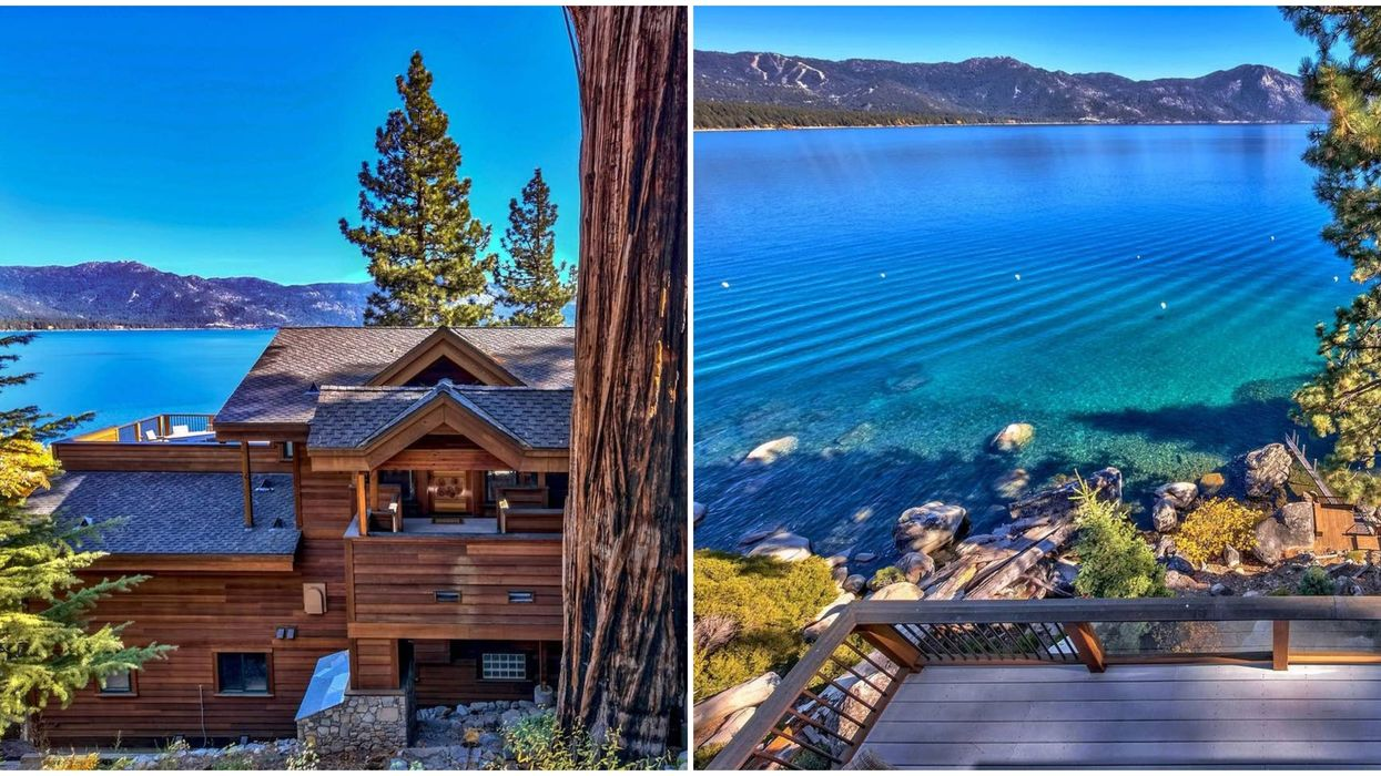 California Airbnb Includes Luxury Lake Views & Is Cheap To Rent With Friends