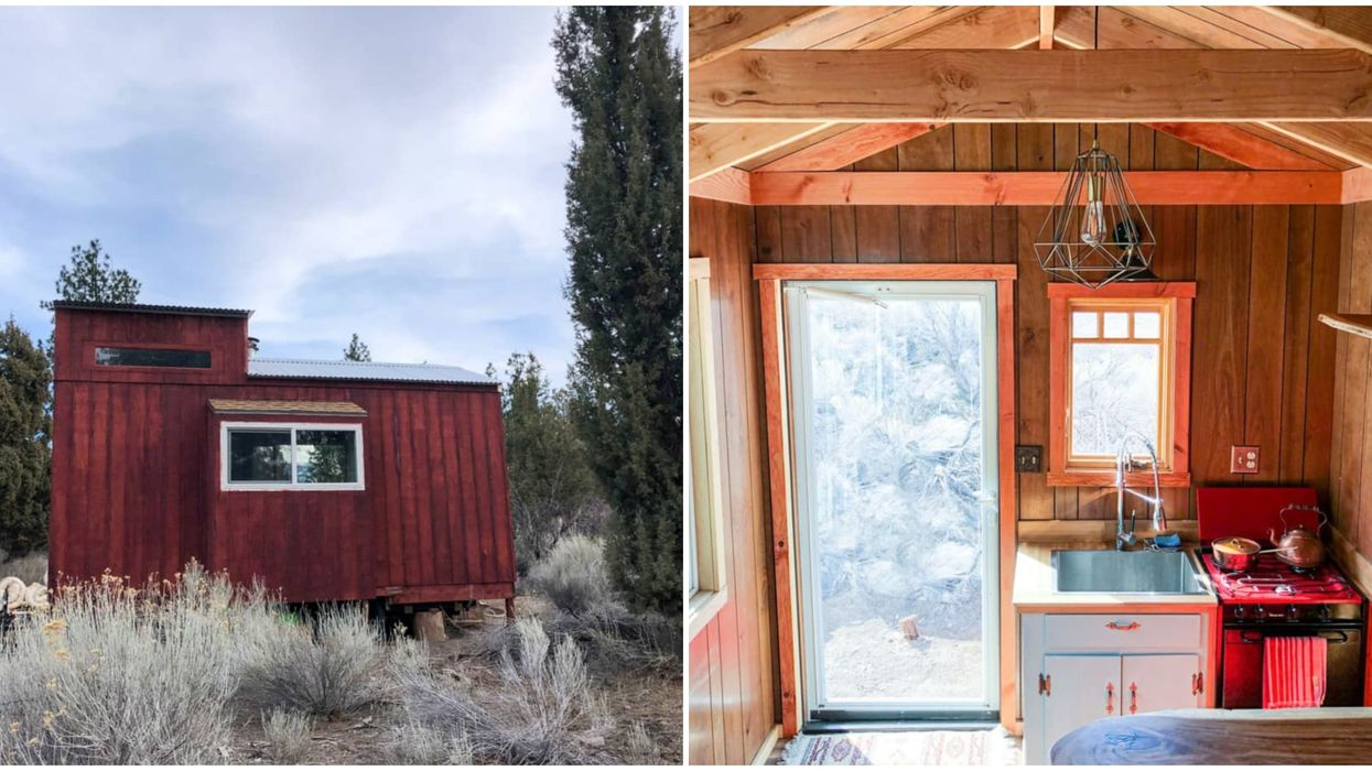 This Tiny House In California For Sale Comes With A Loft & It's Only $33,000