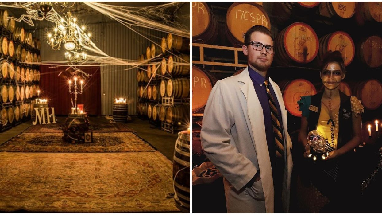 A Haunted Winery Near Houston Will Have Spooky Cellar Tours This October