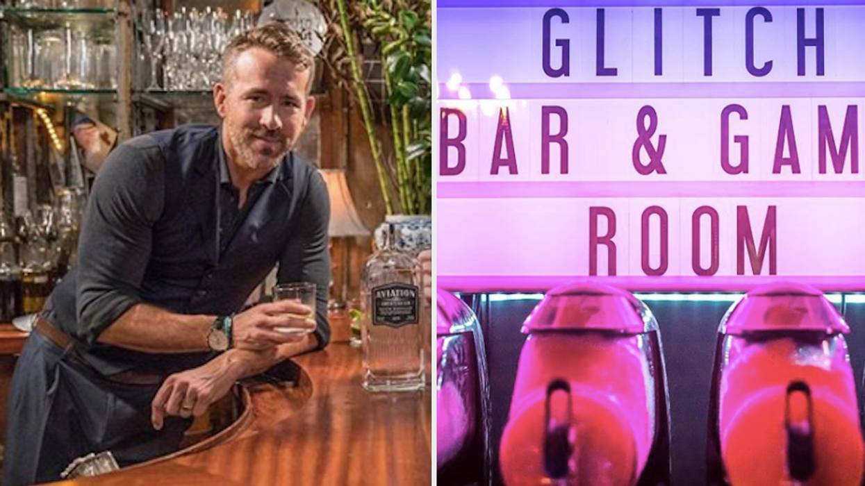 You'll wish you had thought of this idea sooner. Thanks to the Ryan Reynolds' bar bathroom shrine, you can officially tell people you've been up close and personal with the actor.It's exactly what you need after a few drinks and a round of pool.