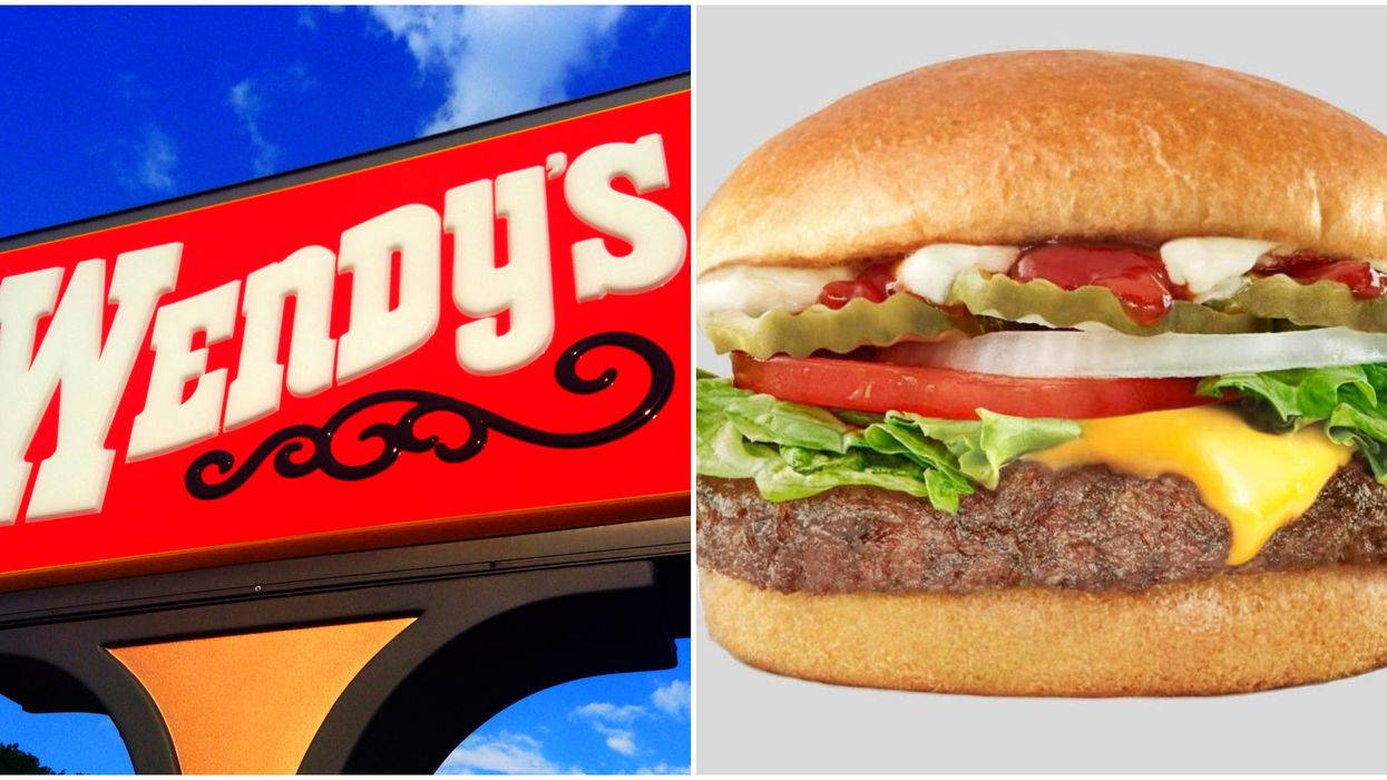 Wendy's Has A New Plant-Based Burger In Canada But It's Not Beyond Meat