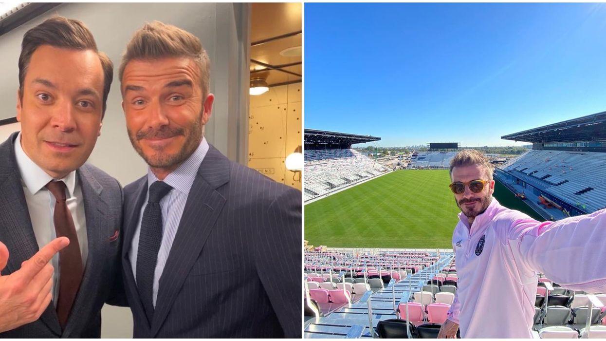 Beckham Invited Jimmy Fallon To Miami For A Inter Miami Game