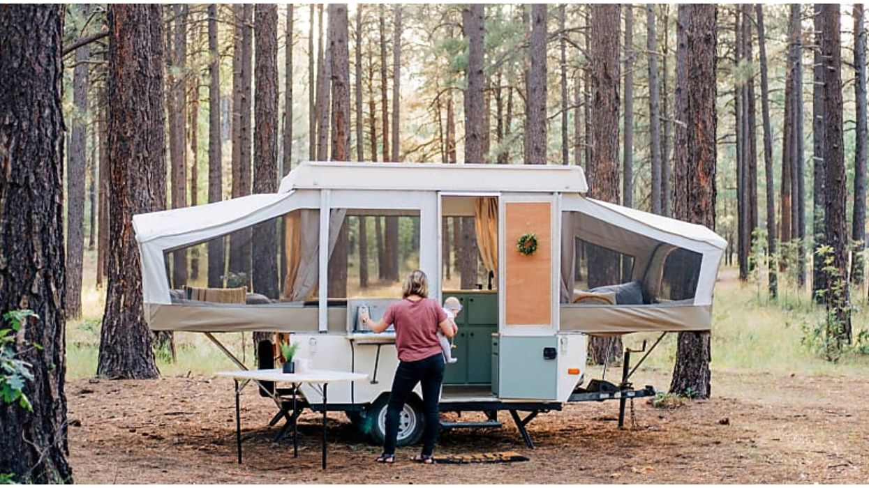 This Pop-up Camper In Arizona Lets You Glamp Anywhere In The State For Cheap