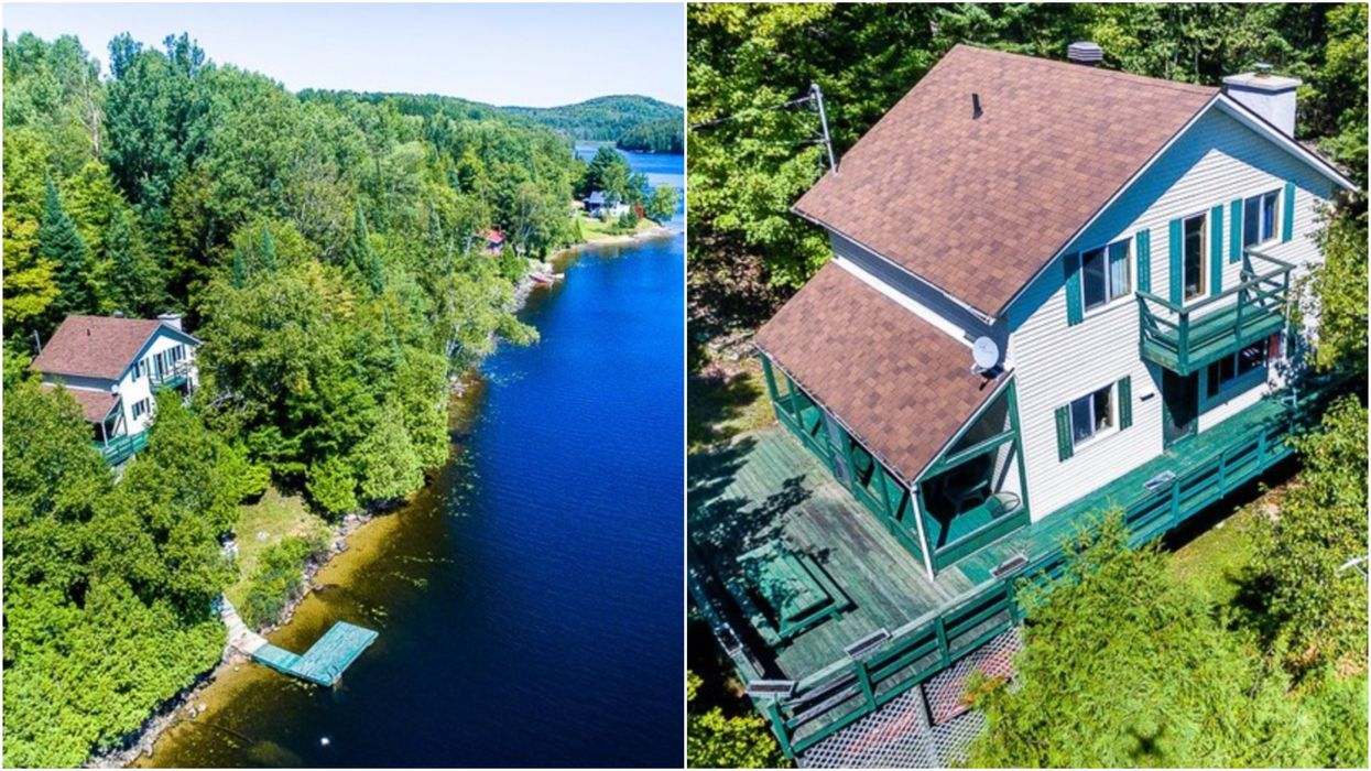 This 3-Bedroom Quebec Lakehouse Costs Just $205,000 But The Views Are Priceless (PHOTOS)