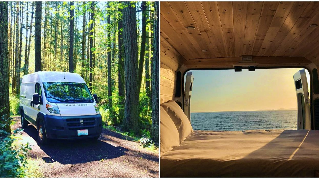 This Camper Van Rental In Seattle Is Perfect To Explore The Pacific Northwest On Budget